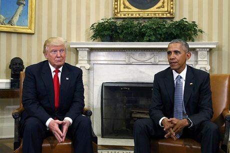 Donald Trump rat thich tro chuyen voi Tong thong Obama - Anh 1