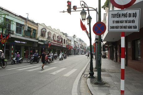 Ha Noi chinh trang do thi tuyen pho Trang Tien - Trang Thi - Dien Bien Phu - Anh 1