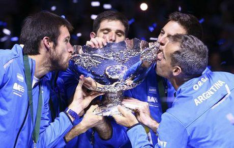 "Argentina ""pha dop"" de lan dau vo dich Davis Cup - Anh 1"