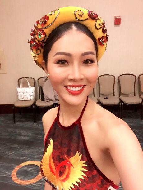 Hoa hau The gioi 2016: Dieu Ngoc bat ngo doi tiet muc thi Hoa hau Tai nang vao phut chot - Anh 1