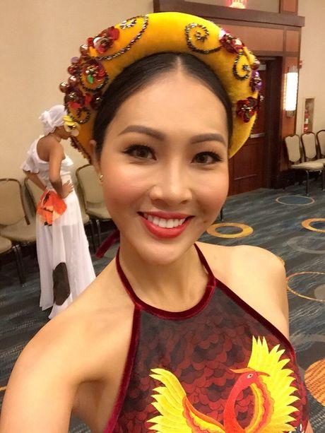 Hoa hau The gioi 2016: Dieu Ngoc bat ngo doi tiet muc thi Hoa hau Tai nang vao phut chot - Anh 5
