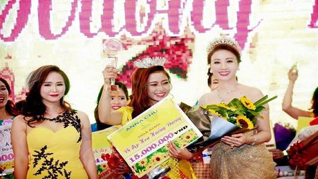 CLB thien nguyen Hoa Huong Duong to chuc cuoc thi Hoa khoi - Anh 1