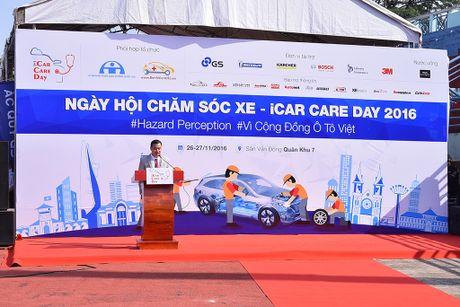 iCar Care Day 2016: Gioi thieu cong nghe nhan dien nguy co tai nan - Anh 1