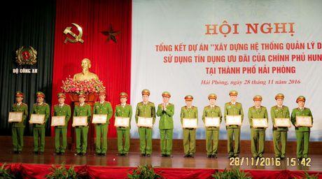 Tong ket Du an 'Xay dung he thong quan ly dan cu' tai Hai Phong - Anh 4
