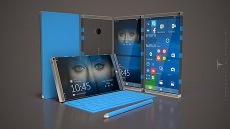 Surface Phone lo dien: Man hinh 2K, RAM 6GB - Anh 1