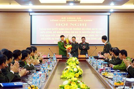 Dai ta Nguyen Duy Ngoc lam Pho Tong cuc truong Tong cuc Canh sat - Anh 2