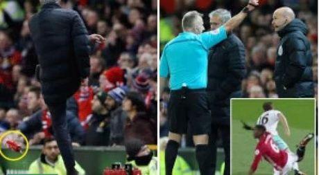 Mourinho bi cam chi dao 6 tran, 'Quy do' cang gap kho - Anh 1