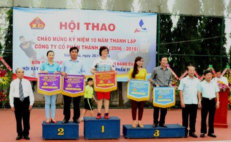 Gan 300 VDV tham du hoi thao ky niem 10 nam thanh lap Cong ty Thanh Chi - Anh 2