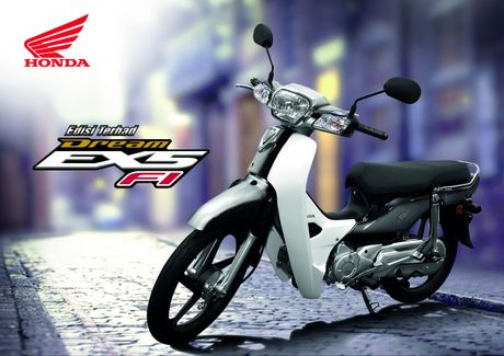 Honda Dream Fi co them phien ban gioi han - Anh 1