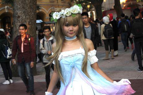 Hoc sinh Ha Noi tu to chuc le hoi cosplay hoanh trang - Anh 6