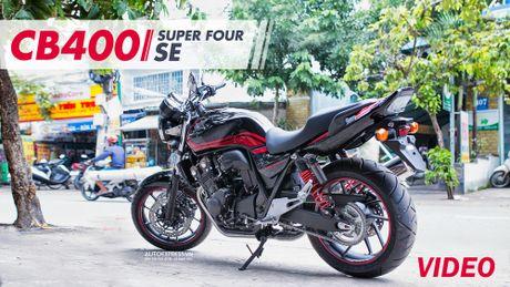 Can canh hang hiem Honda CB400 Super Four SE 2017 dau tien tai Viet Nam - Anh 1