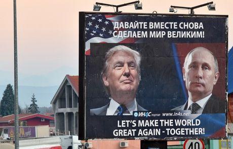Dien Kremlin len tieng ve cuoc gap giua Trump va Putin - Anh 1