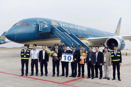 VNA nhan chiec may bay Boeing 787-9 Dreamliner thu 10 - Anh 1