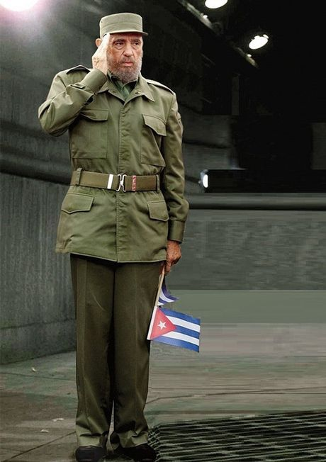 Dieu it biet ve ba bo quan ao duoc lanh tu Cuba Fidel Castro mac nhieu nhat trong ca cuoc doi - Anh 3