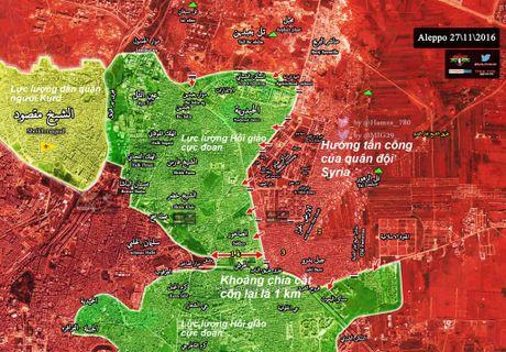 Quan doi Syria danh chiem them mot quan o dong Aleppo - Anh 2