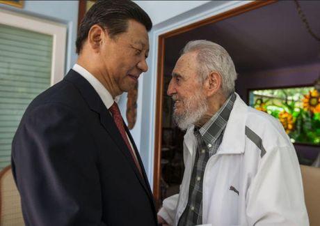 Fidel Castro qua doi: Ong Tap Can Binh gui dien chia buon, bao Trung Quoc danh loi ca ngoi dac biet den lanh tu Cuba - Anh 1