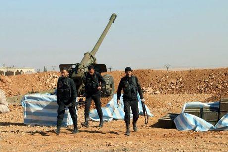 Quan doi Syria phoi hop voi YPG trong chien luoc ngan chan cuoc xam luoc cua Tho Nhi Ky - Anh 1