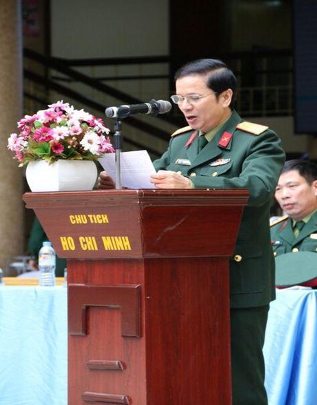 Dai hoc Van hoa Nghe thuat Quan doi : 'Yeu thuong gan lien voi su se chia' - Anh 1