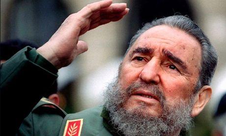 Trieu Tien de tang Fidel Castro ba ngay - Anh 1