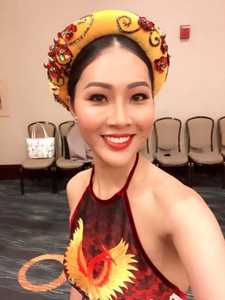 Gap su co, Dieu Ngoc bat ngo thay doi tiet muc thi Hoa hau Tai nang vao phut chot - Anh 4