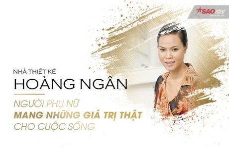 NTK Hoang Ngan: 'Toi chon du lich cho moi lan can kiet y tuong' - Anh 1
