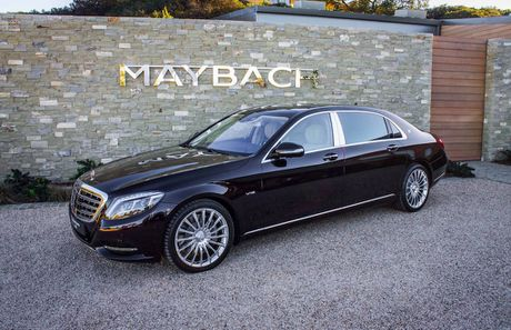 Mercedes-Benz VN sap tung Maybach 'gia re' ra thi truong - Anh 1