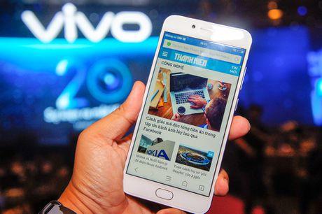 Vivo trinh lang smartphone V5, dung camera truoc 20 MP - Anh 1