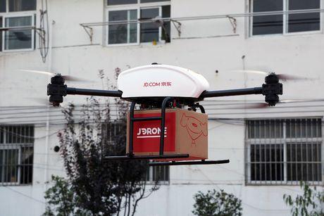 JD muon co 'ham doi' drone chuyen phat vao nam 2017 - Anh 1