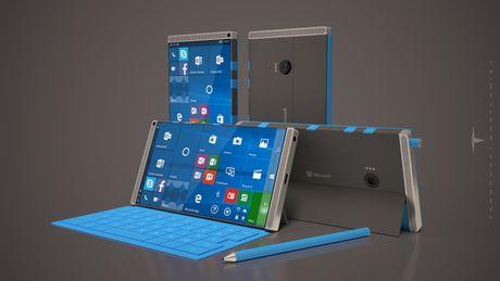 Sieu di dong Surface Phone cua Microsoft lo dien - Anh 1