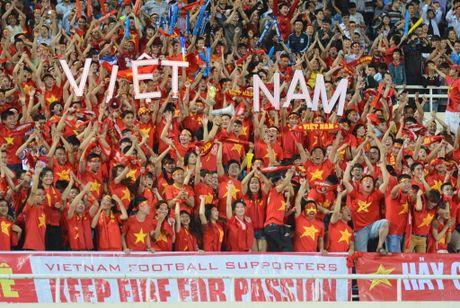 Ve xem tuyen Viet Nam da ban ket o My Dinh tu 150.000 dong - Anh 1