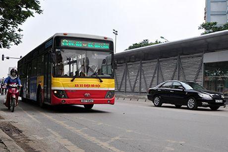 Ha Noi da co phuong an to chuc giao thong tuyen buyt nhanh BRT - Anh 1
