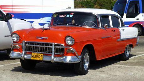 Nhung mau xe co thuong gap tai Cuba - Anh 1