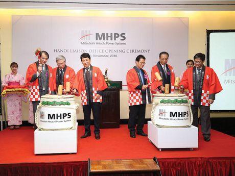 Mitsubishi Hitachi Power Systems khai truong Van phong tai Ha Noi - Anh 1