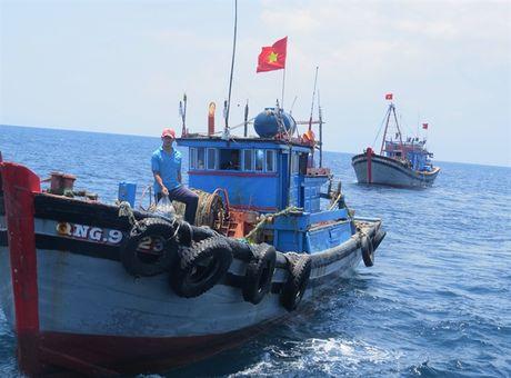 Quang Binh doan ket tren bien - Anh 1