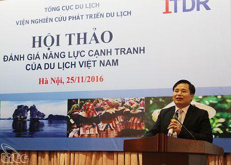 "Hoi thao ""Danh gia nang luc canh tranh cua Du lich Viet Nam"" - Anh 2"
