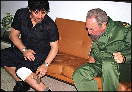 Xuc dong voi tam thu cua Diego Maradona gui lanh tu Fidel Castro - Anh 4