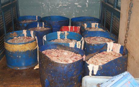 500kg long heo boc mui chuan bi di vao cho Hai My - Anh 1