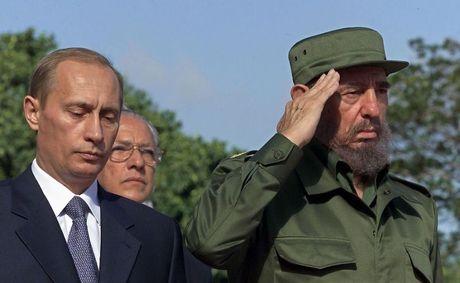 Tong thong Nga Putin khong sang Cuba du le tang lanh tu Fidel - Anh 1