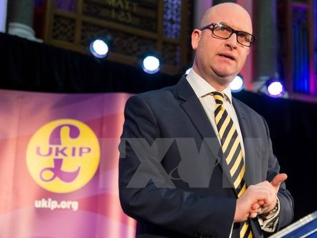 Anh: Ong Paul Nuttall duoc bau lam thu linh dang UKIP - Anh 1