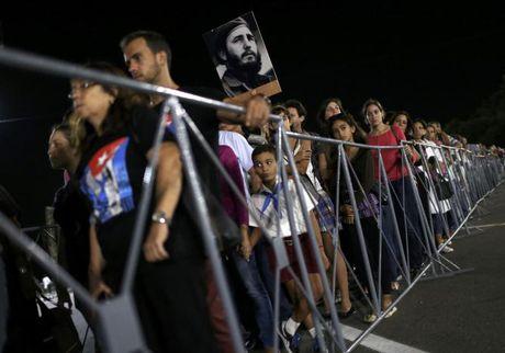 Hinh anh the gioi tien biet lanh tu Cuba Fidel Castro - Anh 5