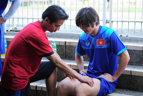 Chan thuong cua Tuan Anh khong can phai phau thuat - Anh 1