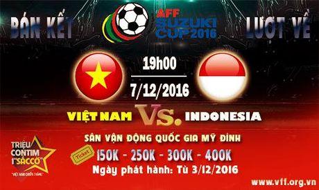 Ve tran Viet Nam vs Indonesia: Phe ve duoc dip tung hoanh? - Anh 1