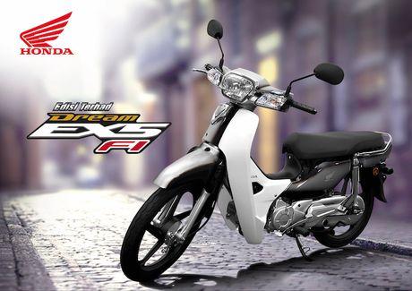 Honda 'trinh lang' Dream EX5 ban dac biet gia 24 trieu - Anh 1