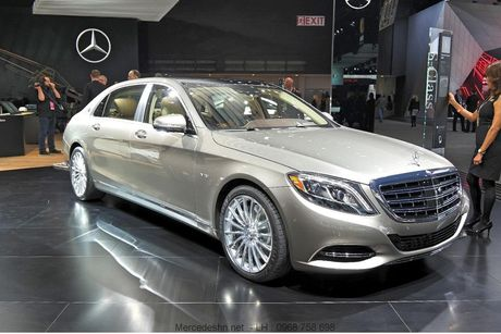 Mercedes-Maybach S400 sap ve Viet Nam gia tu 6,9 ty? - Anh 1