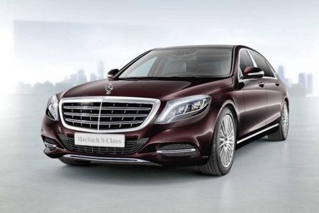 Mercedes-Maybach S400 sap ve Viet Nam gia tu 6,9 ty? - Anh 2