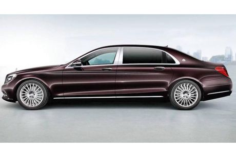 Mercedes-Maybach S400 sap ve Viet Nam gia tu 6,9 ty? - Anh 4