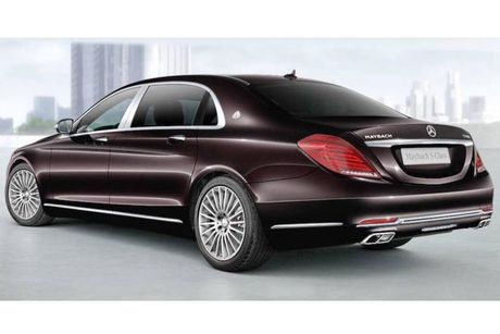 Mercedes-Maybach S400 sap ve Viet Nam gia tu 6,9 ty? - Anh 5