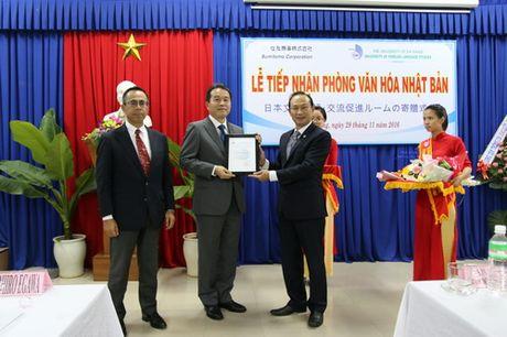 Truong DH Ngoai ngu, DH Da Nang co Phong Van hoa Nhat Ban - Anh 1