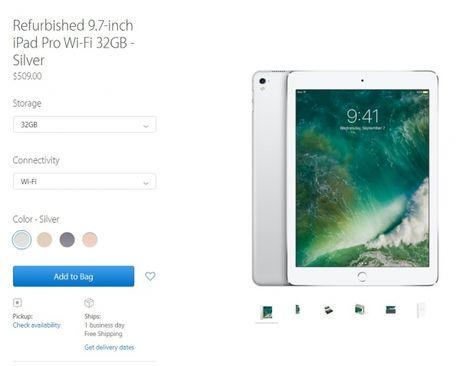 Apple ban iPad Pro tan trang gia tu 509USD - Anh 2