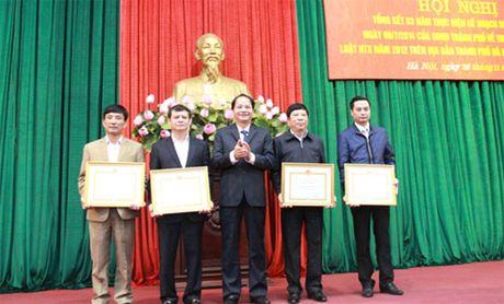 Ha Noi: Tren 70% HTX chuyen doi theo Luat - Anh 1
